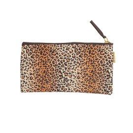 Pouch leopard pattern