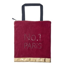 Shopper favourite bag velvet no. 1 paris