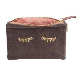 Cosmetic bag velvet sleepy eyes