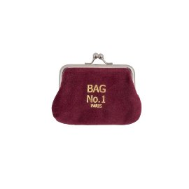 Coin purse velvet bag no.1 paris