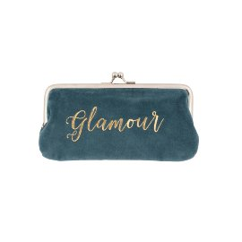 Cosmetic bag velvet glamour