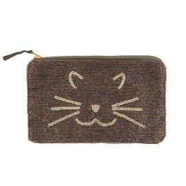 Perlentasche Katze