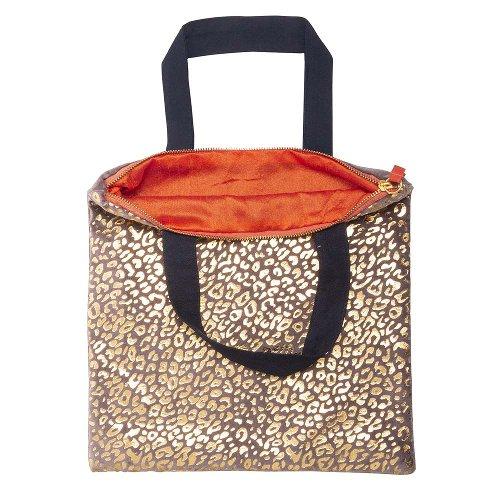 Mini bag leopard pattern