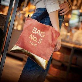 Mini bag velvet Bag No.5