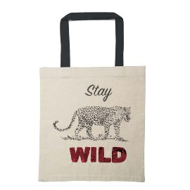 Shopper Easybag Leopard Stay Wild