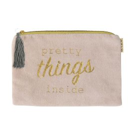 Cosmetic bag pretty things