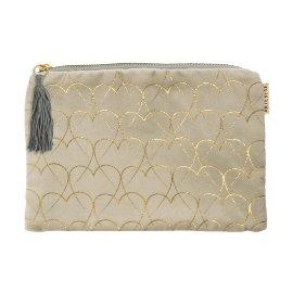 Cosmetic bag hearts