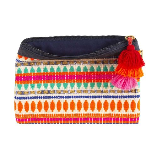 MAJOIE cosmetic bag coral