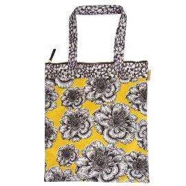 Shopper Lieblingstasche Blüten Gelb