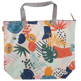 Beach bag leaves