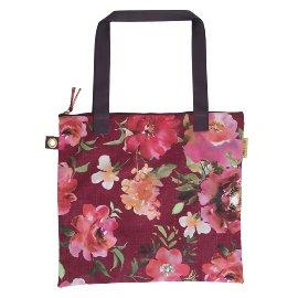 Shopper favourite bag roses bordeaux