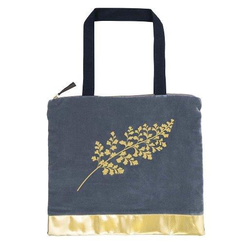 Shopper favourite bag velvet leaf