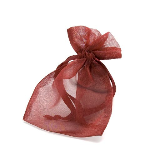organza bag/9x12cm/bordeaux