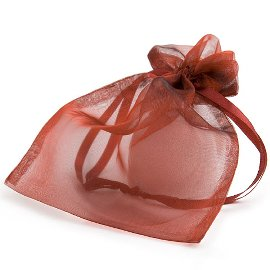 organza bag/17x21cm/bordeaux