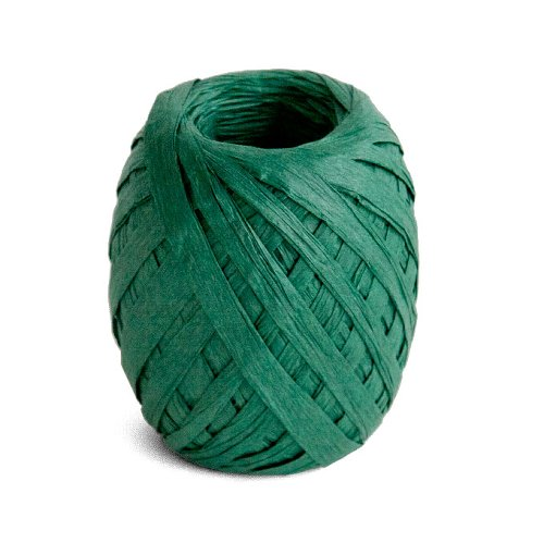 ribbon/crepe paper/45m/darkgreen