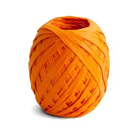 ribbon/crepe paper/45m/orange