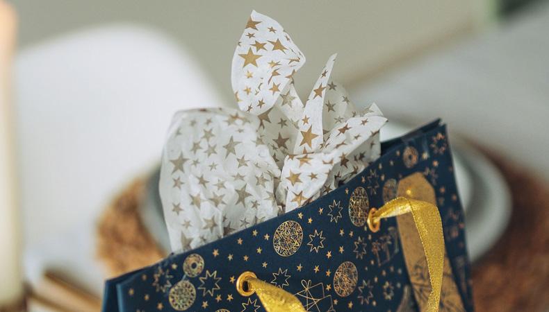 Seidenpapier Weihnachten