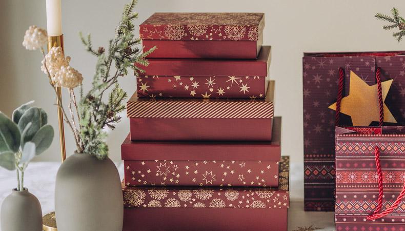 Geschenkboxen Weihnachten
