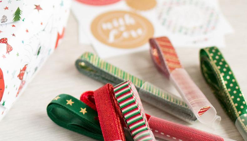 Geschenkbänder Weihnachten