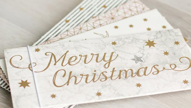 Geschenkumschläge Weihnachten