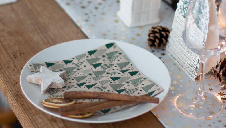 Weihnachtsservietten