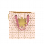 Tasche/20x20x11cm/Finest/Origami Stern/