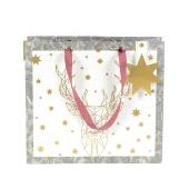 Tasche/25x25x11cm/Finest/Origami Hirsch