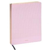 Schreibbuch/DIN A5/Streifen/rosé/gold