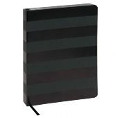 Schreibbuch/DIN A5/Streifen/schwarz