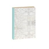Schreibbuch/DIN A6/Marmor/gold