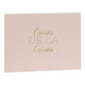 Gästebuch/22,5x17,5cm/Crème de la Crème/