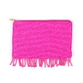 Perlentasche/22x13cm/pink